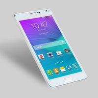 Wholesale Perfect Note4 Quad Core Inch MTK6572 G Android Smartphone G ROM GB RAM IPS Screen Metal Side with Heart Rate