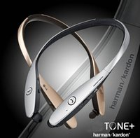 apple management - Premium bluetooth stereo headset with retractable wire management HBS900 with colors for LG Samsung Iphone Android Without Logo