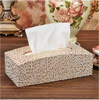 arches paper - unique arch shaped rectangle leather tissue box holder toilet paper storage A