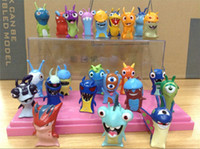 Wholesale Cute New Movie Cartoon Slugterra Slager elf doll PVC Action Figures Toys set Christmas Gifts Boys Toys does not contain display box