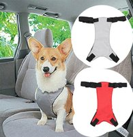 Wholesale High Quality Pet Dog Safety Belt Collar Leads Dog Car Seat Belt Walking Leads Belt Traction Rope Pet Product Pet Carrier