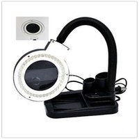 arts crafts mission - 1pcs Magnifying Crafts Glass Desk Lamp With X X Magnifier With LED Led Table Light LED Desk Light