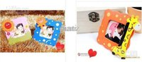 Wholesale Baby show Cartoon baby photo frame Mixed cute wooden cartoon children s kids photo frame