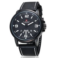 band buy watch - Luxury top brand NAVIFORCE leather band men watch relogio masculino quartz relojes watches buy direct from china NF