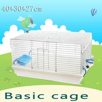 Wholesale 2015 New multicolor Basis for breeding pet gaiola hamster cage Travel carry hamster cages