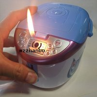 rice cooker - 2015 Creative personality is lighters rice cooker lighters Rice cooker ashtray metal smoking pipes