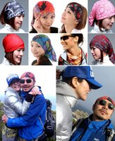 Wholesale Multi Functional Magic Headband Seamless Scarves Face cycling Bandanas Camping For Traveling