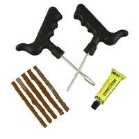 Wholesale Hot Salw Best seller Bike Car Auto Tubeless Tire Tyre Puncture Plug Repair Tool Kit zk May