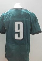Wholesale Eagles Nick Foles New Green Football Elite Jerseys Men Women Youth Kids Stitched Jersey Size Drop Shipping