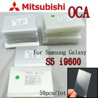 Wholesale OCA Optical Clear Adhesive For Samsung Galaxy S5 i9600 Double Side Sticker Glue for Mitsubishi um thick
