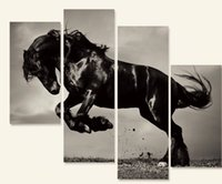 horse decor - OIL PAINTING MODERN ABSTRACT WALL DECOR ART CANVAS Horse PC no frame