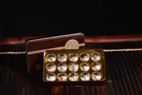 al por mayor el mini lata de té-Té Puer té, chino Mini Yunnan Puer té, caja de regalo caja de té Meituohu Upscale caja de regalo