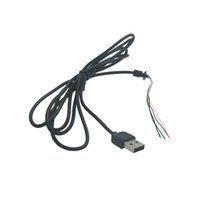 Wholesale USB Mouse Cable USB Wire Built Core Welding Mouse