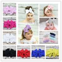 baby kiki - Girls Bow Headband Bunny Bow Knot Hairband Vintage Butterfly Girl Mom Parents Tie Hairband Baby New Head Wear kiki headband