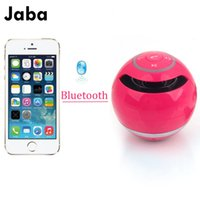 Wholesale 1 Mini Portable Wireless Bluetooth Round Speaker Outdoor Super Bass Speakers For Samsung Tablet PC