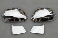 Wholesale ABS Chrome Rearview mirror cover Trim Rearview mirror Decoration For Peugeot
