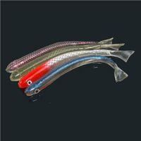 Wholesale Hollow Super Soft Bait Natural Color Simulation Lures Fish Bait Hot Genuine Fishing Lure cm Authentic Hollow Fish Hollow Super Soft Bait