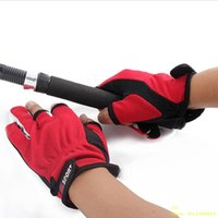 Wholesale 2015 New Top Quality Outdoor Sports Anti Slip Comfortable Fishing Gloves Slip resistant Fishing Gloves