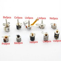 mini stepper motor - NEW totally each of kinds Wire Phase dc micro stepper motor Mini stepper motor Assorted with Plastic box A2