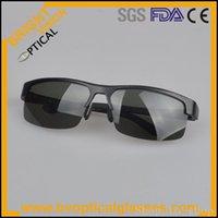 aluminium hinges - 8053 sunglasses with spring hinge for sport MansAlloy aluminium polarized sun glasses sunshades