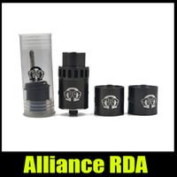 alliance metal - Alliance RDA Tank Clone mm Dripping Atomizer Stainless Steel Peek Insulator DIY Ecigarette Vaporizer RDA Kit New