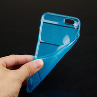body armor - Iphone Plus Inch Ultrathin Crystal Clear Soft TPU cases Back Cover transparent Gel Skin Protector Body Armor Case Phone Shell