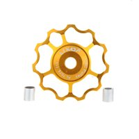 Wholesale Quality LIXADA Bicycle Derailleur MTB Road Bicycle Rear Derailleur Aluminum Alloy T Guide Roller Pulley Jockey Wheel Part