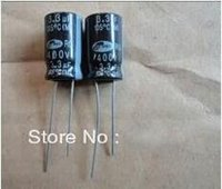 Wholesale 100 NEW uf v UF400V Electrolytic Capacitor