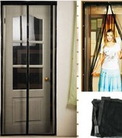 Wholesale Delicate Magnetic Mesh Net Screen Anti Mosquito Bug Fly Home Gate Door Magic Curtain Hot Selling price good quality