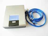 Wholesale Unlocked linksys SPA1001 voip adapter sip ATA adapter with fxo port Internet phone adapter without retail box
