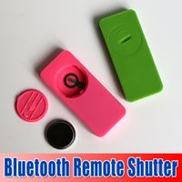 Wholesale Hot Selling in Bluetooth Remote Shutter Wireless Remote Shutter Self timer Self Timer Selfie Remote for Android for ios waitingyou