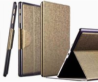Wholesale 2015 For Samsung Galaxy Tab S T800 T805 PU Leather Stand Case Smart Cover