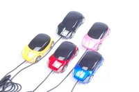 Wholesale Wired Mouse Fashion Super Car D Computer Mouse GHz Optical Gaming Mouse for Desktop Laptop gift free ship