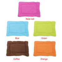 Wholesale hot selling cat dog kennel pet house warm bed cushion coton mat pad candy color brand new