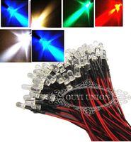 3mm led - V DC Pre Wired LED Light Lamp mm CM White Color V DC
