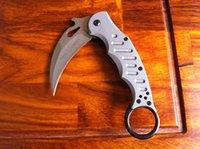 Cheap fox karambit G10 knife Best fox G10 handle knife