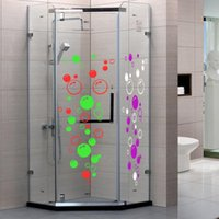 bathroom tile shower - creative Bubbles Wall Art Bathroom Window Shower Tile Decoration Decal Kid Car Sticker Waterproof and Removable wall sticker