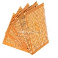 Wholesale 5PCS x15cm Prototype Paper Boards PCB Blank Printed Circuit Board DIY BHU2