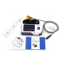 Wholesale Hoot sales New High resolution LCD display Handheld ECG EKG Monitor with illuminated background and