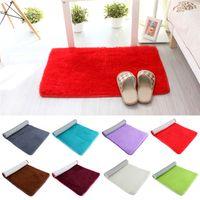 plush carpet - Hot Sales Bathroom Carpets Foam Rug Floor Mat Absorbent Soft Non slip Bottom Plush CM JN5