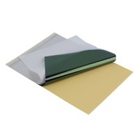 Wholesale 25 Tattoo Transfer Paper Copier Spirit Stencil Carbon Thermal Tracing Sheets Hot Selling
