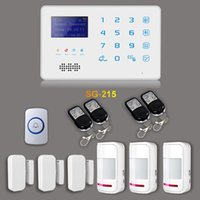 Wholesale 850 MHz Smart Wireless GSM SMS Alarm System for Home Security SG