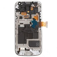 Galaxy S4 Mini i9195 - For SAMSUNG S4 Mini GT I9195 LCD Screen touch digitizer with frame white blakc