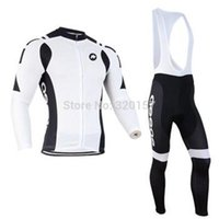 assos bike clothing - 2014 Men assos Ropa ciclismo long cycling jersey Bicycle bicicleta mountain bike maillot shirt clothing bibs pants set