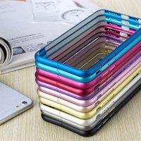 aluminum frame - Aluminum Metal Hard Case Ultra Thin Slim Frame Bumper For Apple iPhone S Plus iPhone S S Galaxy S6 S5 S4 Note4 Xiaomi M4