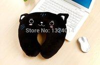 bear massage - New Fashion Cute Cartoon Tiger Cat Pig Bear Pattern U shape Neck Pillow Travel car home Pillow