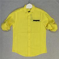 Wholesale Boys Shirts Big Size Korean Style Long Sleeve Children Shirts New Autumn Kids Casual Clothing For Big Boys