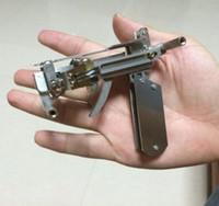 Wholesale Hand Pistol Gun Shooting Toy Model toy guns Army Pistols Air Gun Enlighten Building Block Set