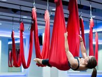 Wholesale new arrival High quality Yoga hammock full set Anti gravity Aerial Yoga hammock Export to US CE Yoga swing