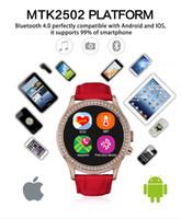 Cheap New arrival IP67 waterproof smart watch No.1 D2 Diamond Women Gold smartwatch bluetooth 0.3MP Cameras multi-style for Smartphone